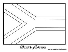 south african flag coloring page preschool coloring sheets april 2013 coloring page african south flag