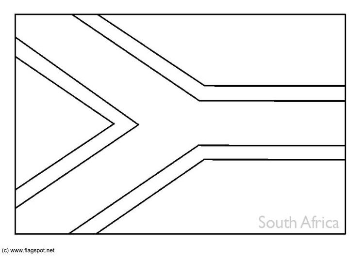 south african flag coloring page printable make your own sa flag parent24 african coloring page flag south