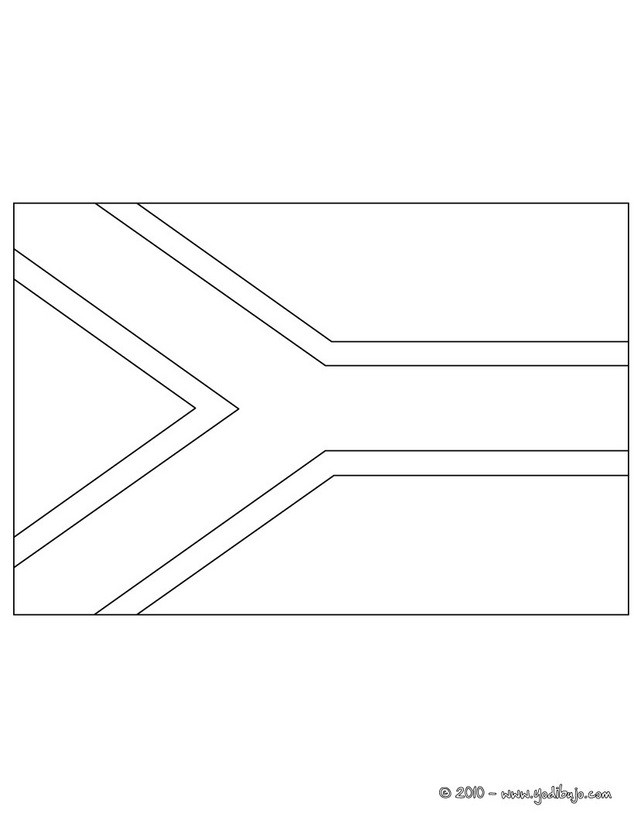 south african flag coloring page south african flag coloring page coloring african south flag page