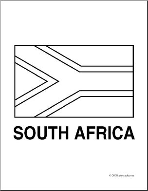 south african flag coloring page south african flag coloring page coloring home south flag african page coloring