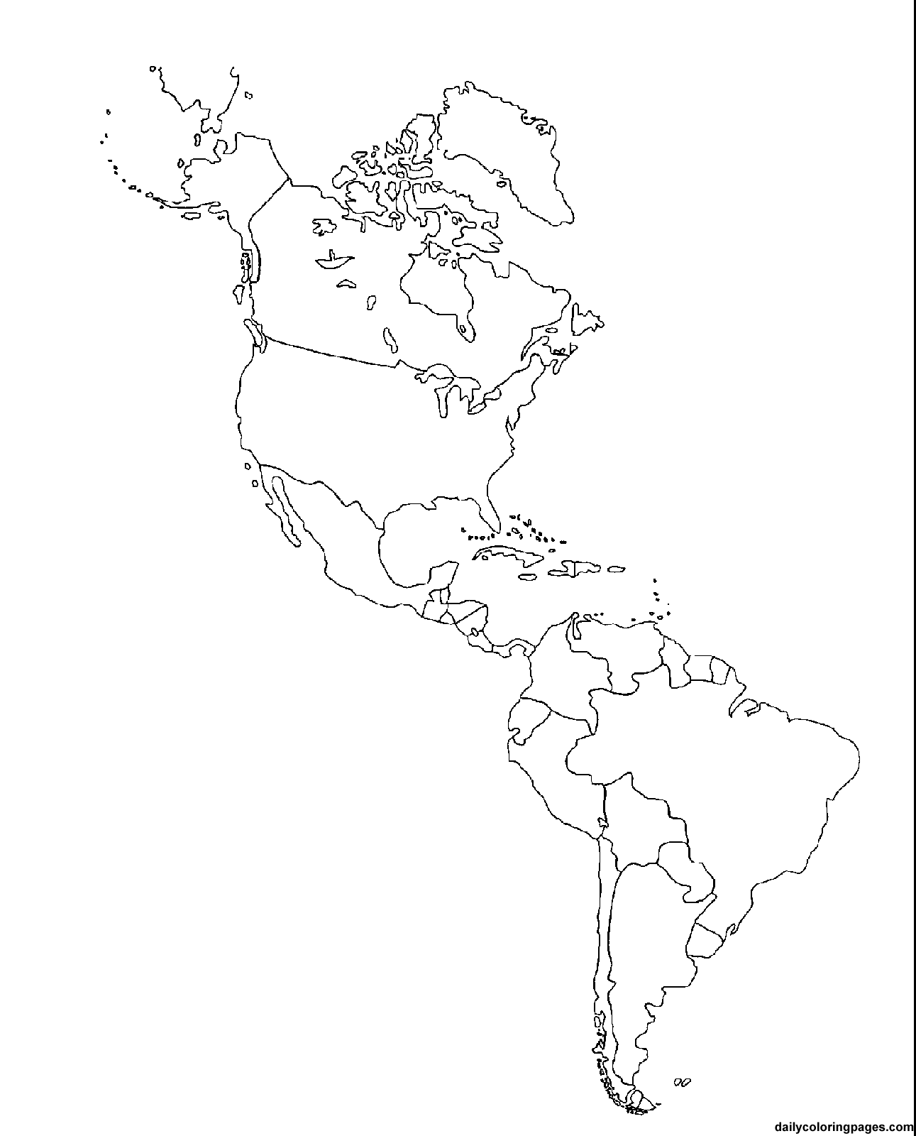 south america map coloring page south america coloring pages kidsuki south coloring map america page