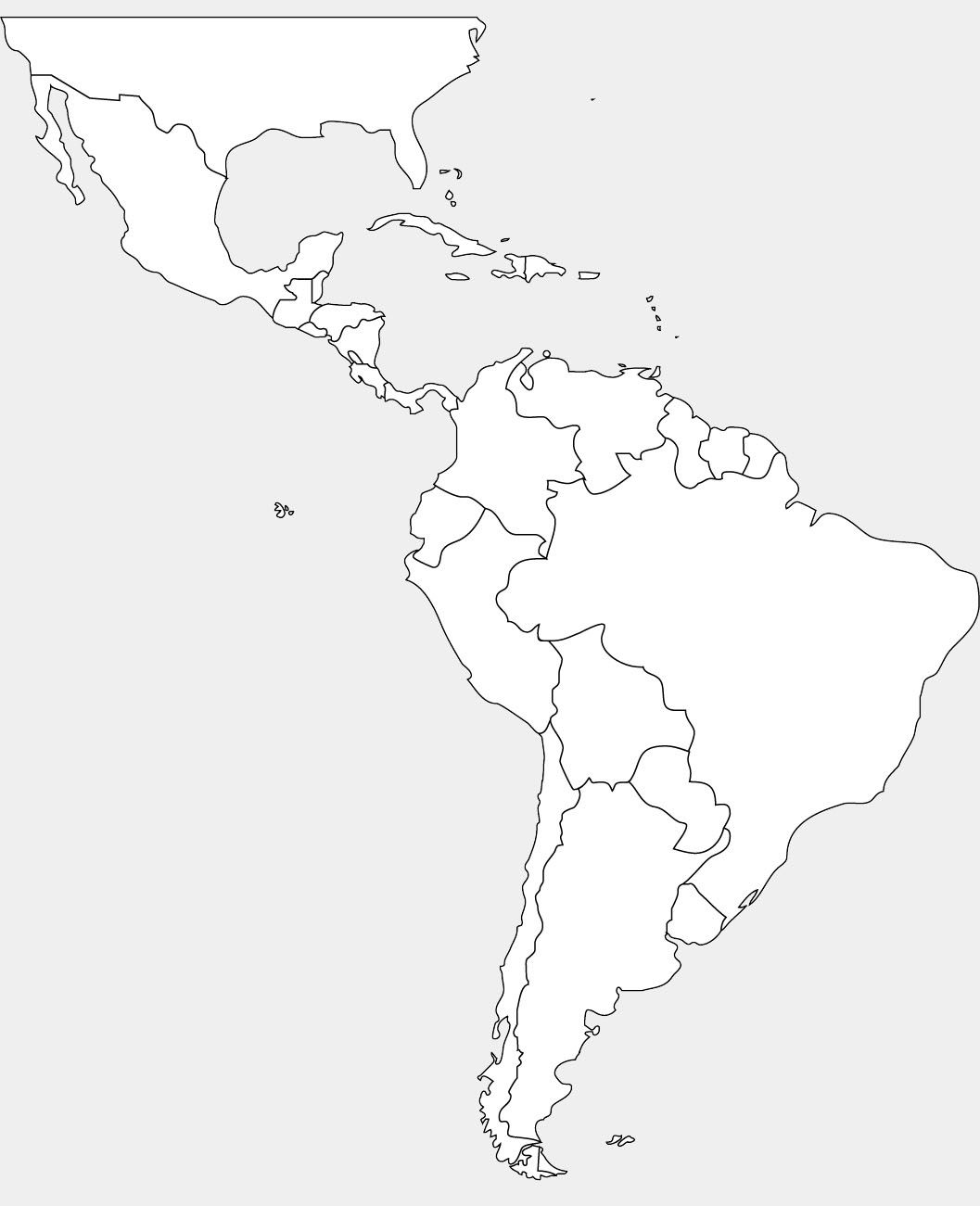 south america map coloring page this printable map of south america has blank lines on coloring south map america page