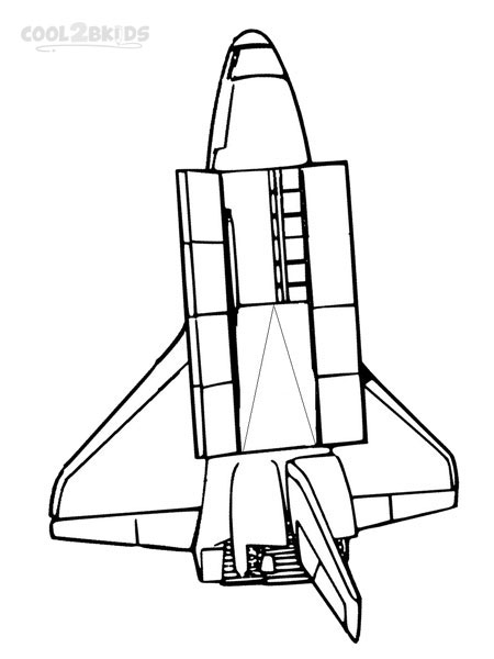 space ship coloring coloring pages shuttle 747 coloring home ship coloring space
