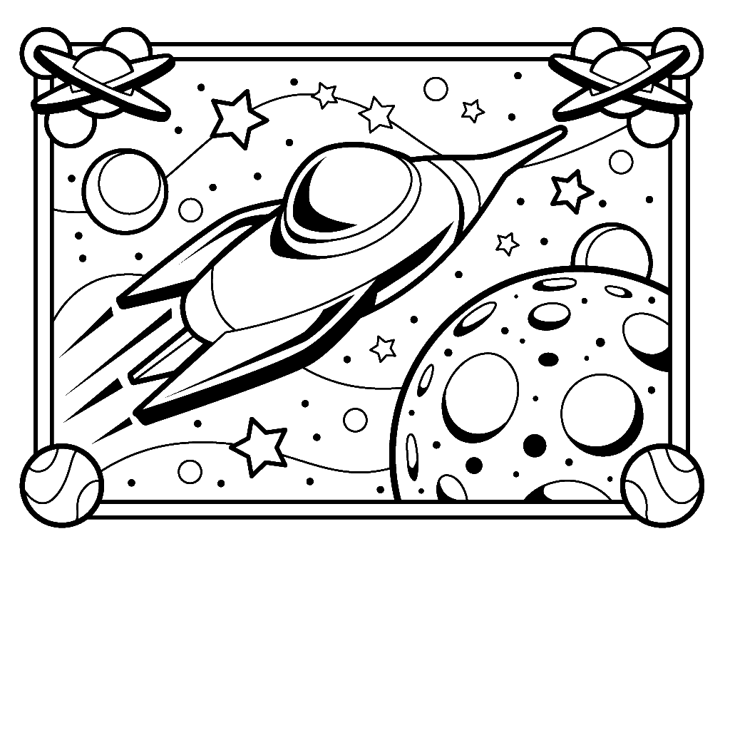 space ship coloring printable spaceship coloring pages for kids space ship coloring