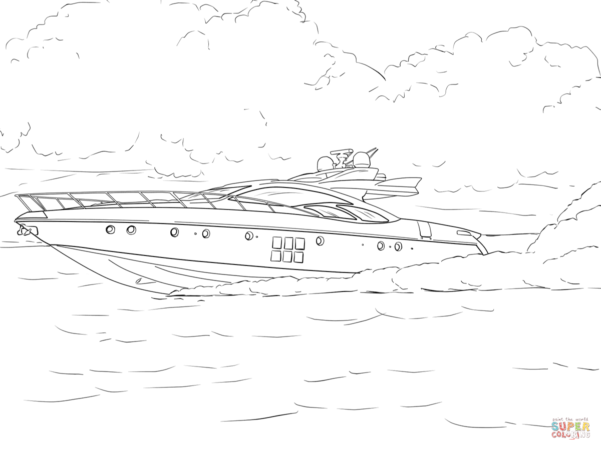 speed boat coloring boat coloring motor pages 2020 coloring pages speed boat coloring