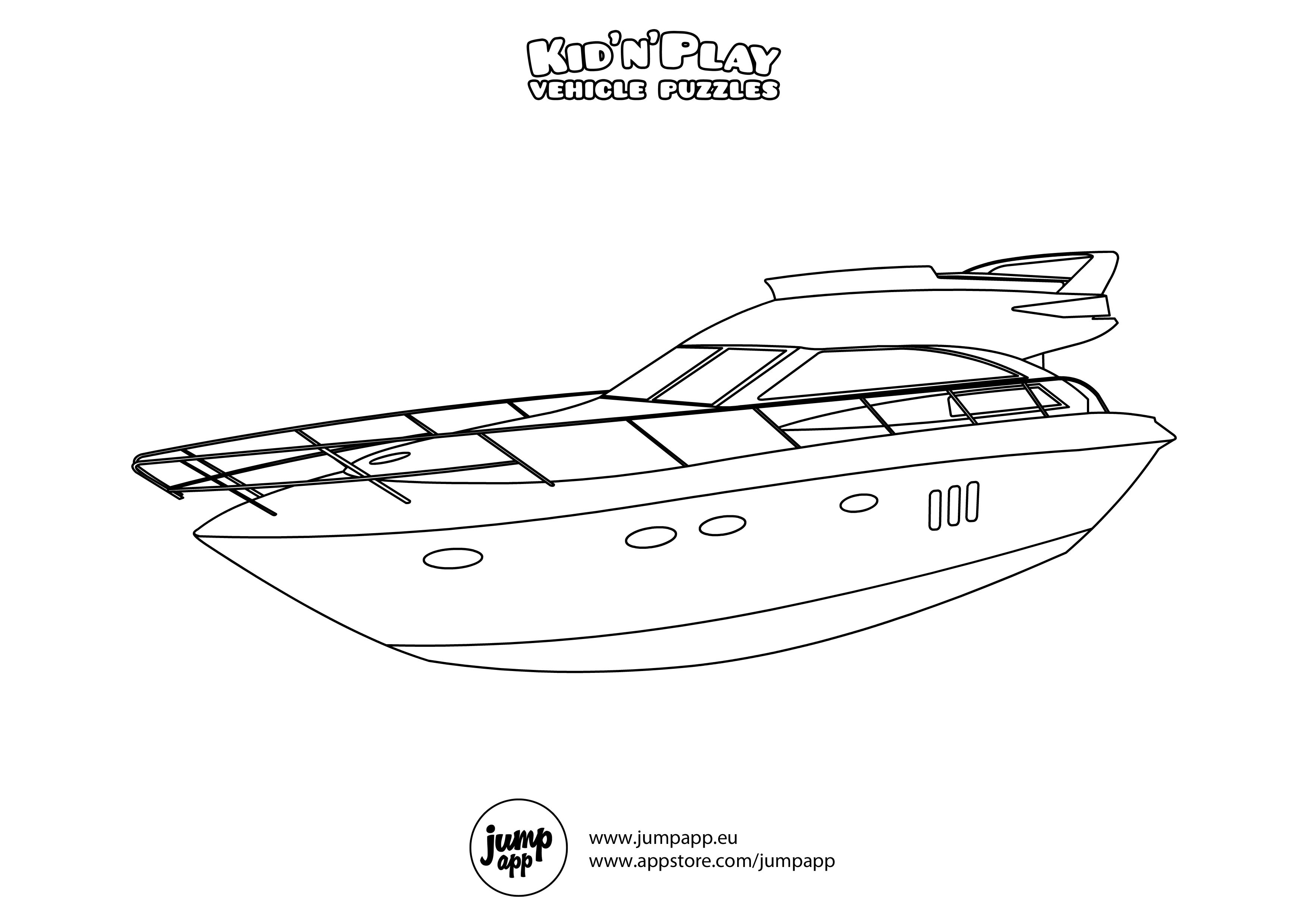 speed boat coloring free printable boat coloring pages for kids best boat speed coloring