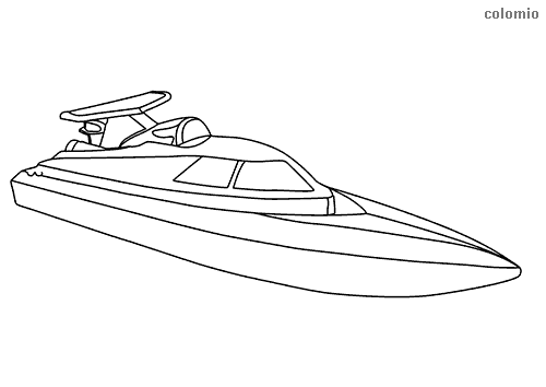 speed boat coloring real yacht coloring page for kids transportation coloring speed coloring boat