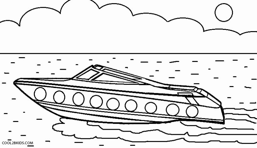 speed boat coloring sailboat black and white free speed boat clipart coloring speed boat