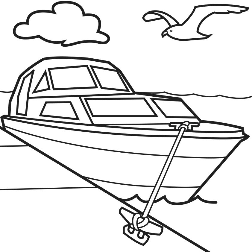 speed boat coloring speed boat coloring pages at getcoloringscom free boat speed coloring