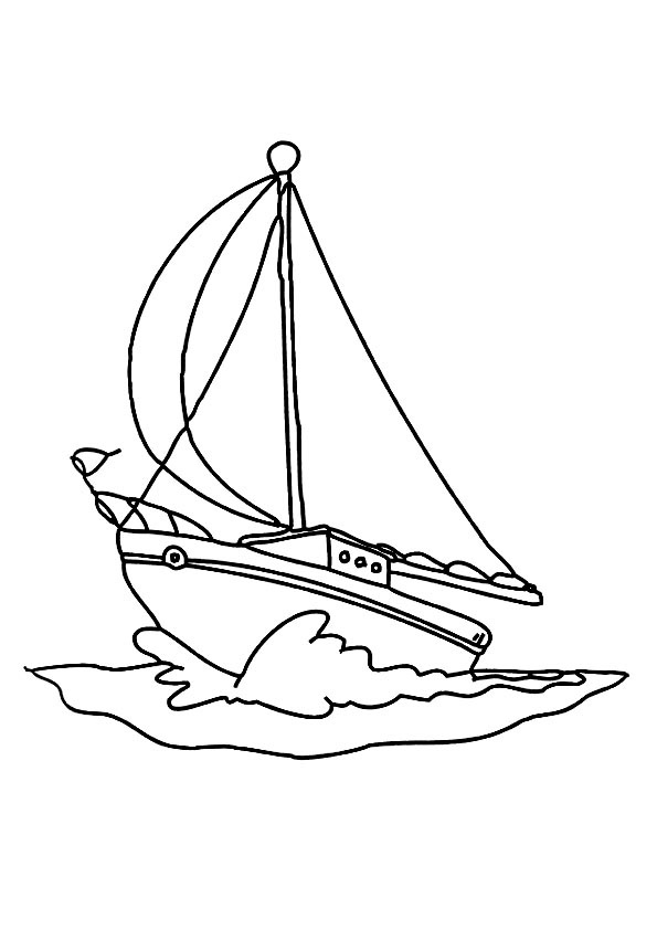 speed boat coloring speedboat coloring page coloringcom coloring speed boat