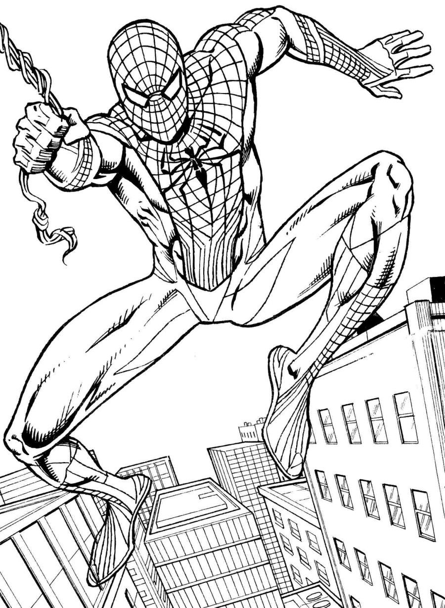 spiderman coloring pages printable coloring pages spiderman free printable coloring pages coloring spiderman printable pages