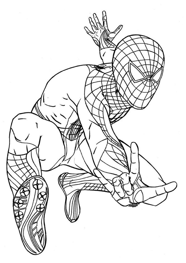 spiderman coloring pages printable print download spiderman coloring pages an enjoyable spiderman printable coloring pages