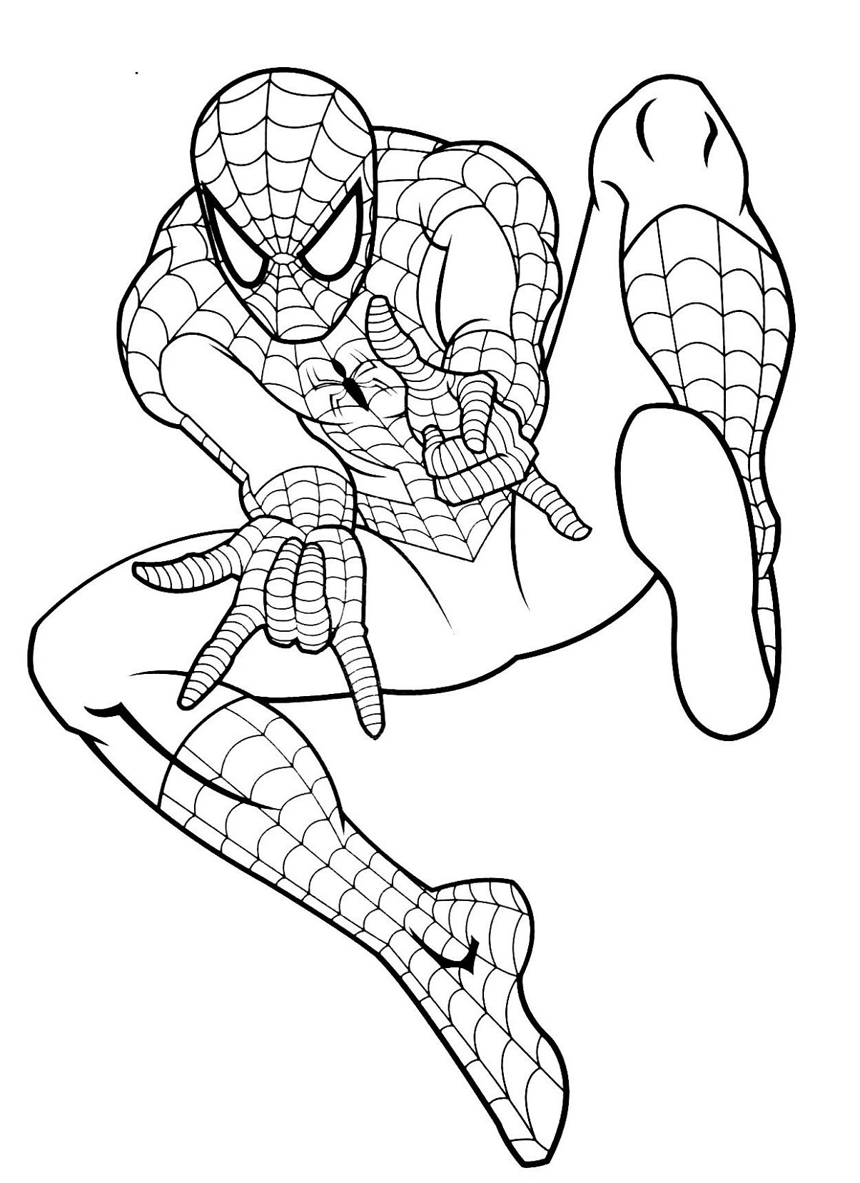 spiderman colouring pics spiderman coloring pages colouring spiderman pics