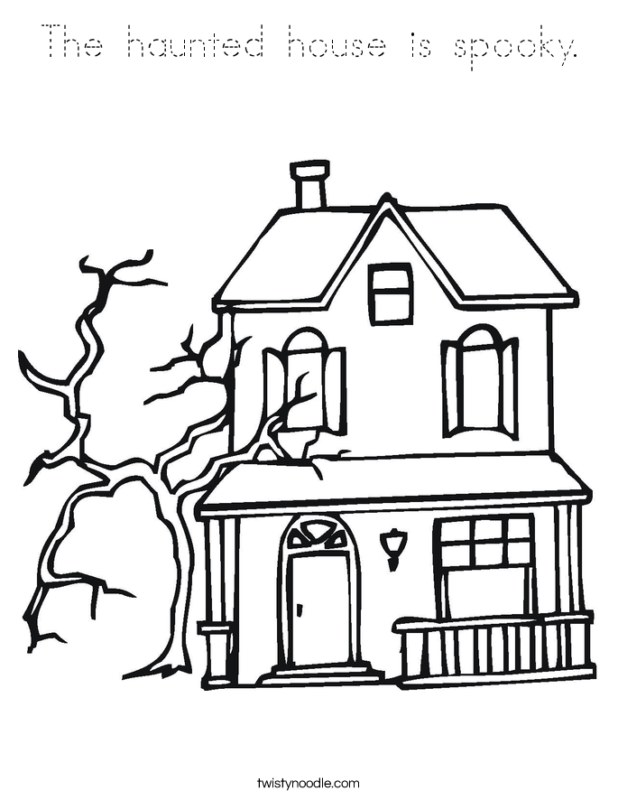 spooky house coloring pages haunted house picture coloring pages enjoy coloring coloring house pages spooky