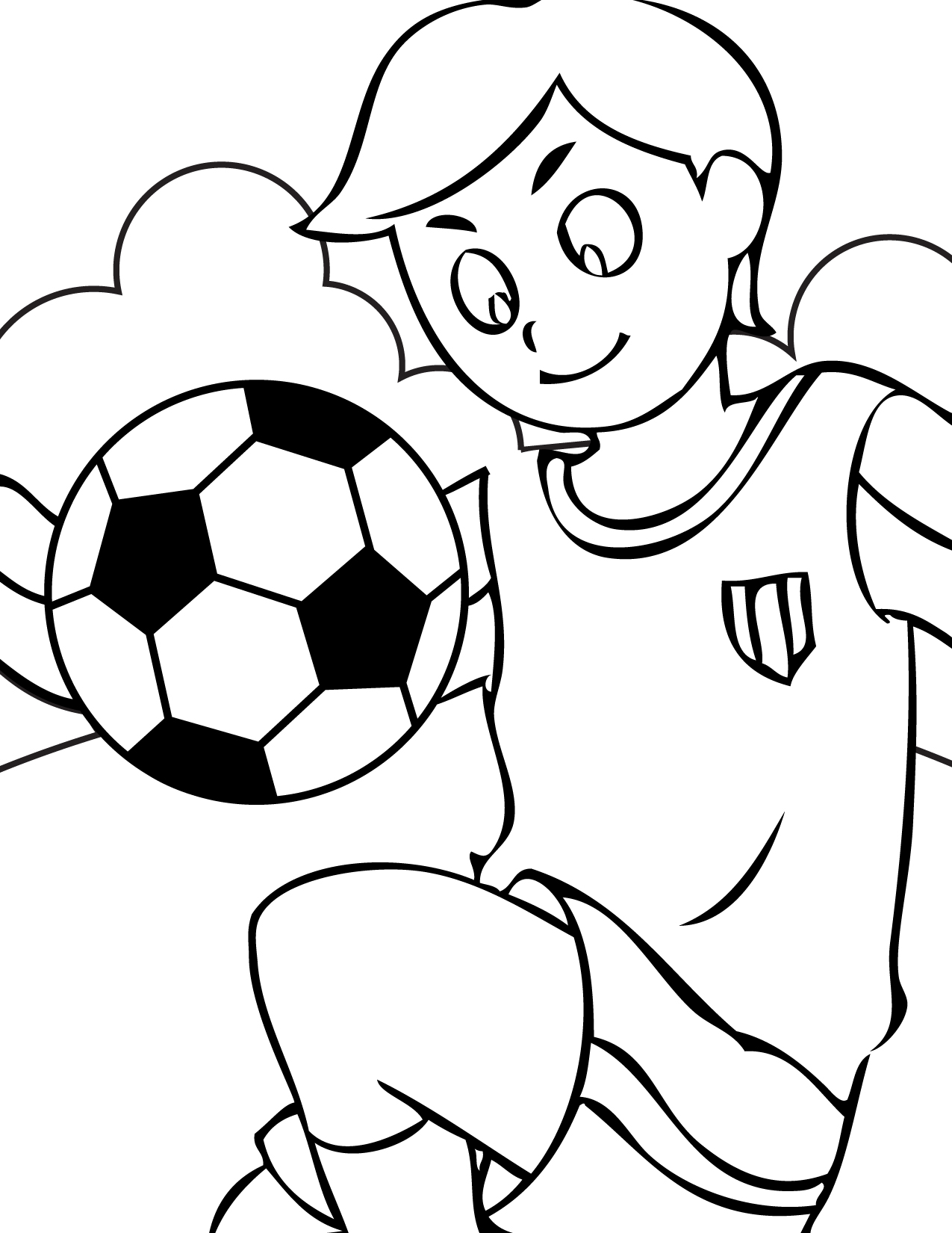 Sport pictures to color