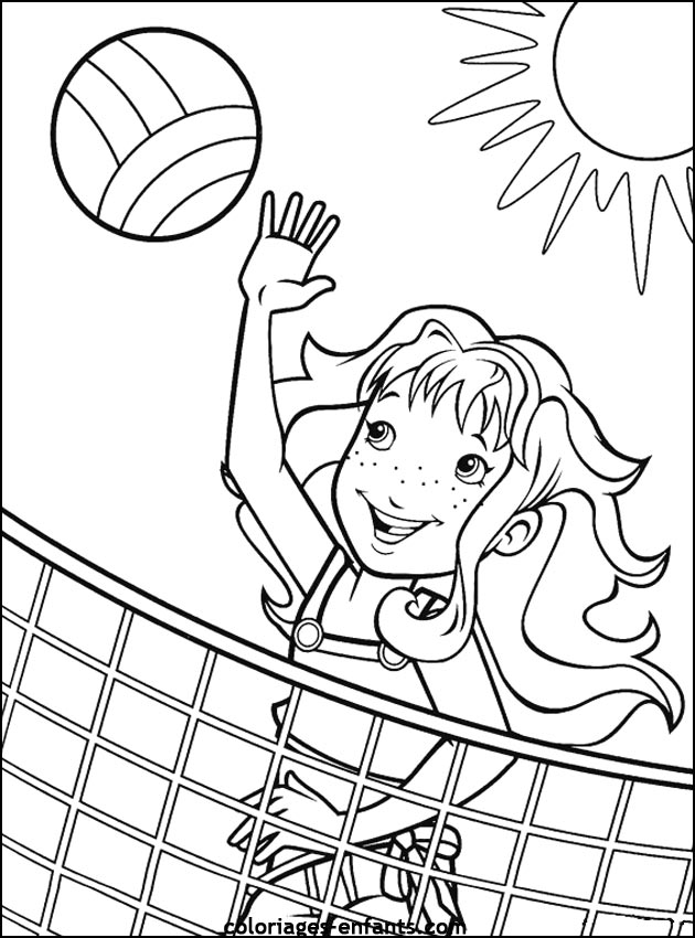 sport pictures to color volleyball5 sports coloring pages coloring page book for to pictures sport color