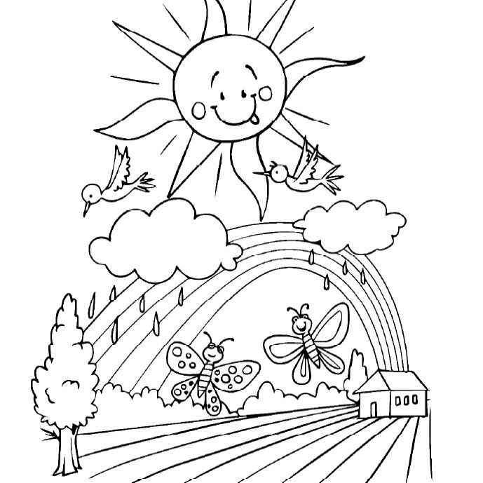 spring coloring pages for kids 2 spring coloring pages easy pdf print 100 free pages coloring spring kids for