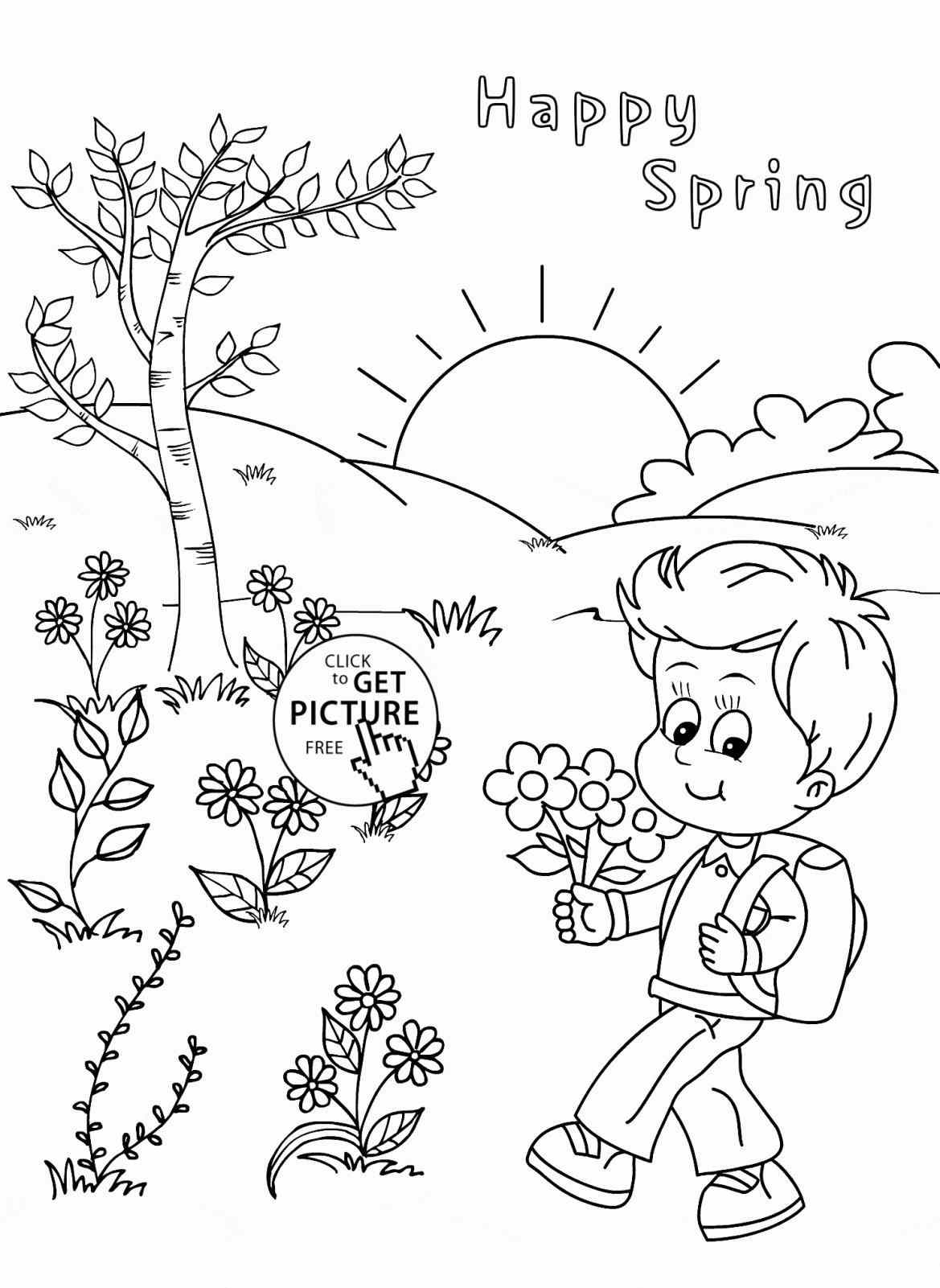 spring coloring pages for kids 307 free printable spring coloring sheets for kids pages kids for spring coloring