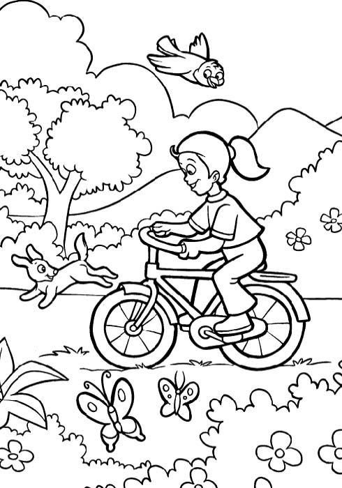 spring coloring pages for kids 5 best images of spring season coloring pages printable coloring kids spring for pages