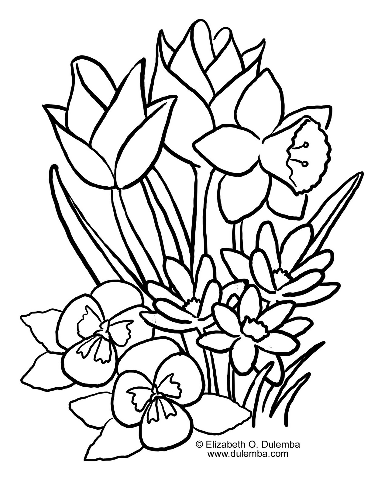 spring coloring pages for kids spring coloring pages 2011 kentscraft kids pages for spring coloring