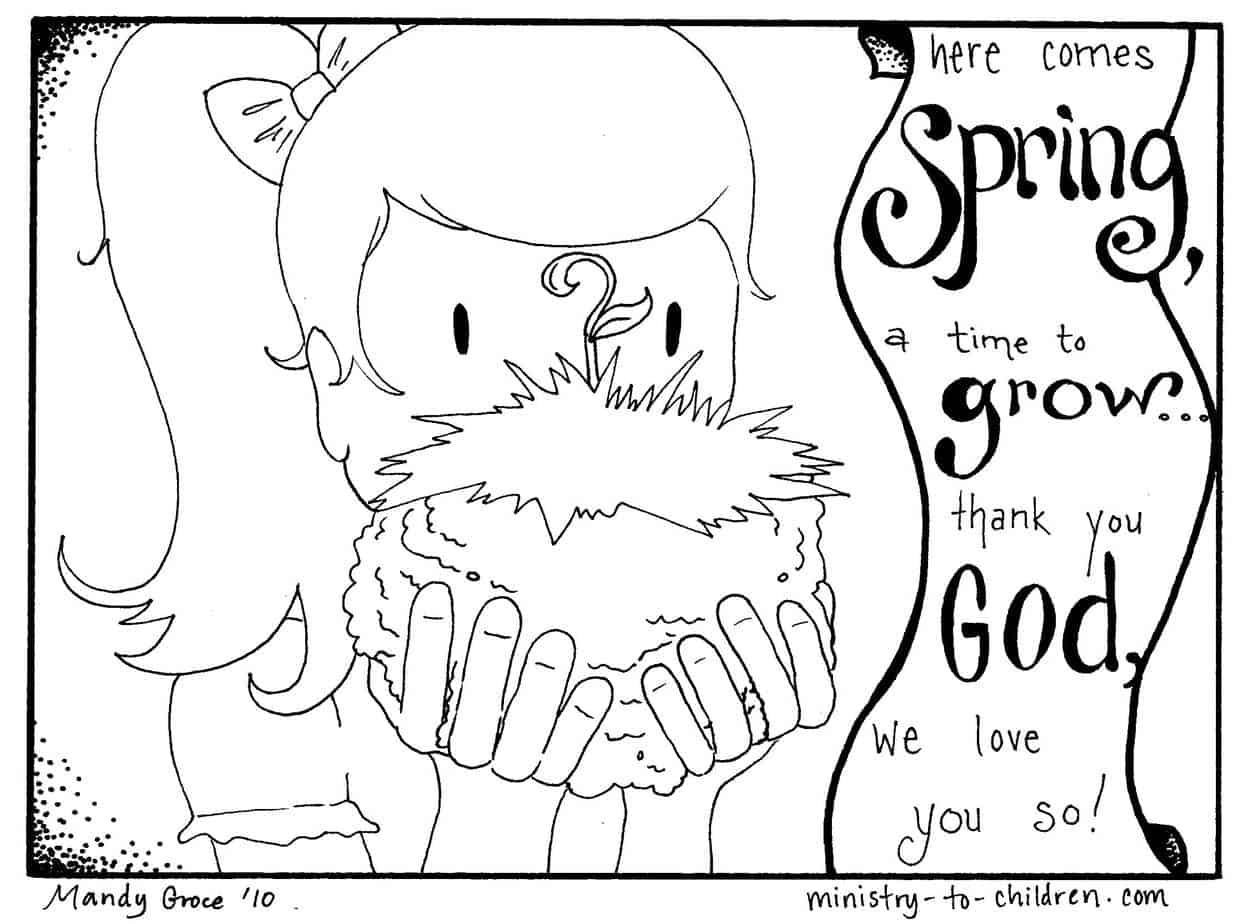 spring coloring pages for kids spring coloring pages best coloring pages for kids spring kids coloring for pages