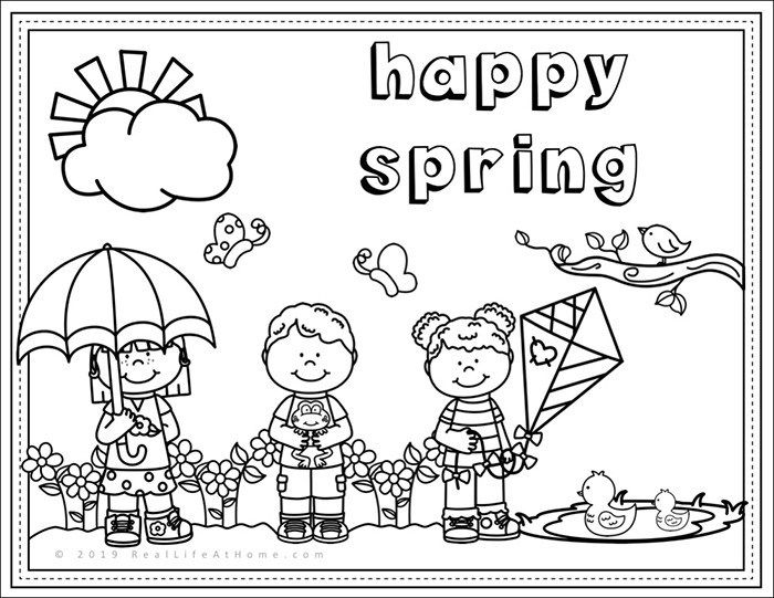 spring coloring pages for kids welcome spring coloring pictures spring day cartoon for pages kids coloring spring