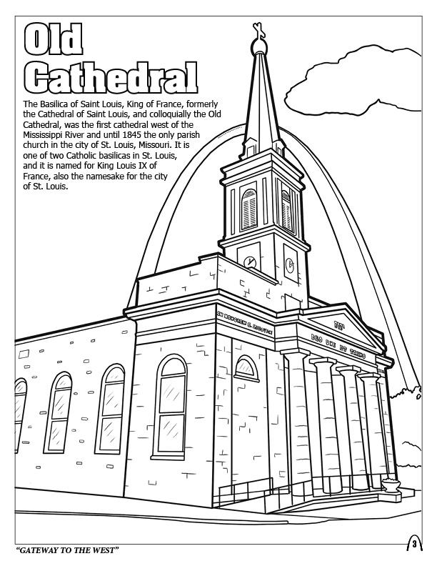 st louis coloring pages coloring books st louis gateway to the west pages st coloring louis