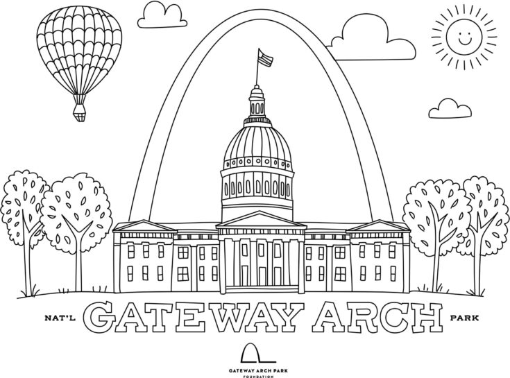 st louis coloring pages free coloring pages of st louis coloring st louis pages 1 1