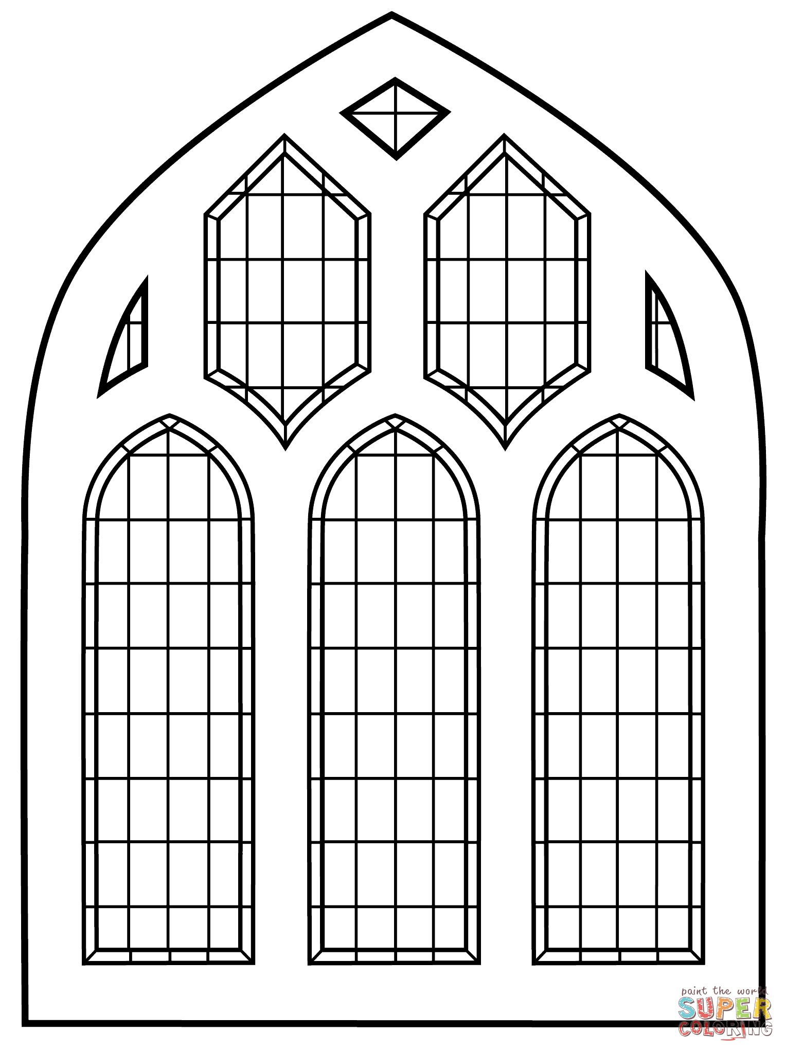 stained glass window coloring pages free printable stained glass window coloring pages coloring window glass stained pages