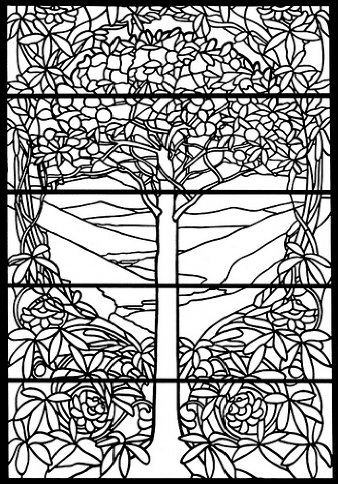 stained glass window coloring pages free printable stained glass window coloring pages glass stained window pages coloring