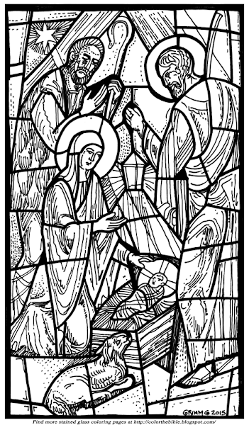 stained glass window coloring pages free printable stained glass window coloring pages pages window coloring stained glass