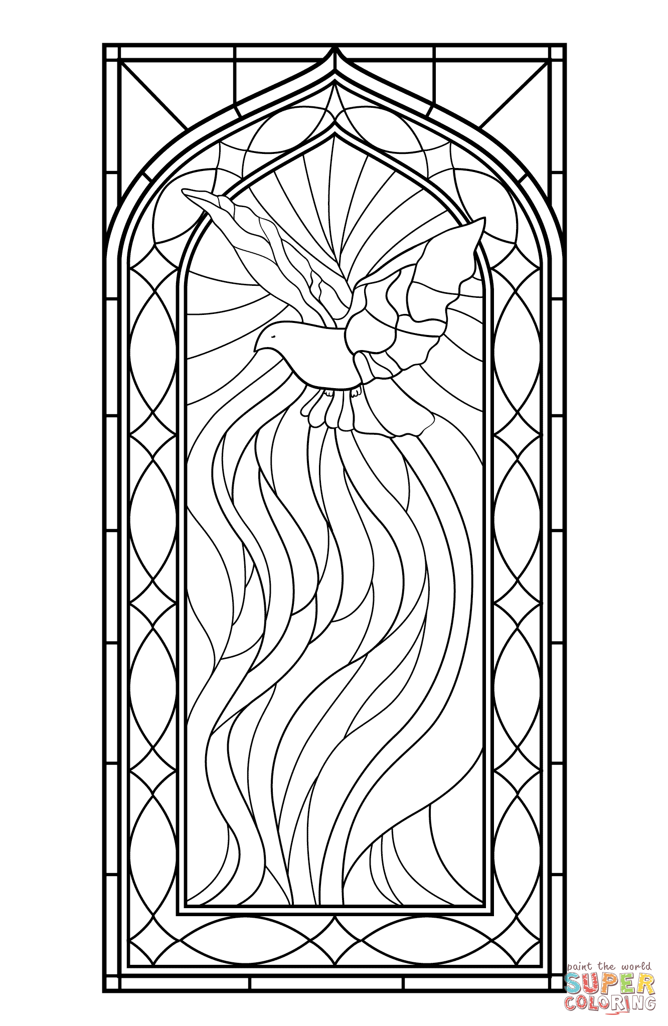 stained glass window coloring pages get this printable stained glass coloring pages 84618 glass pages coloring window stained