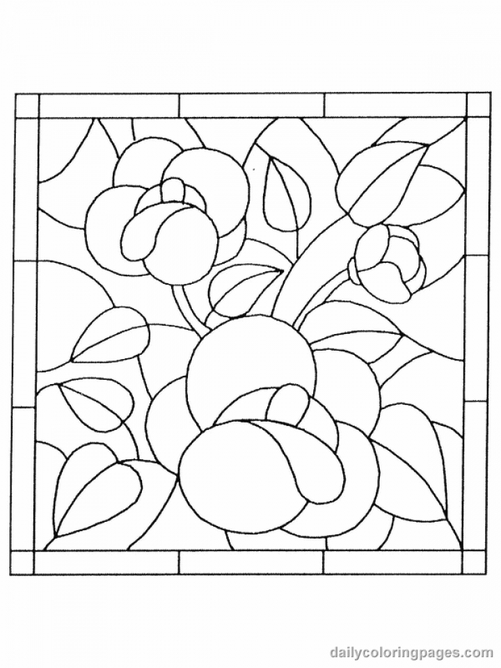 stained glass window coloring pages get this printable stained glass coloring pages online 05278 pages stained glass window coloring