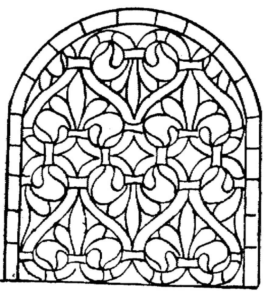 stained glass window coloring pages stained glass window coloring pages download and print for pages stained glass window coloring