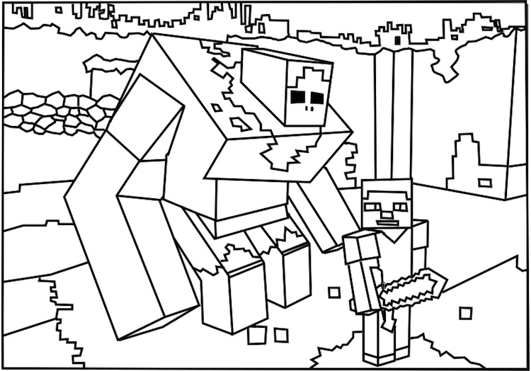 stampy coloring pages minecraft coloring pages stampy at getcoloringscom free coloring stampy pages