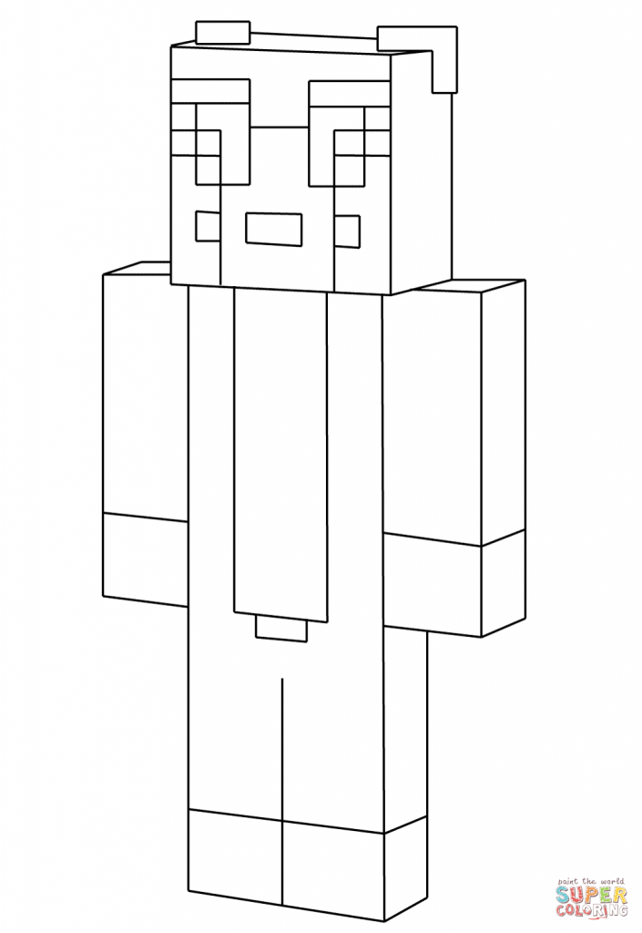 stampy coloring pages minecraft stampy drawing at getdrawings free download coloring stampy pages