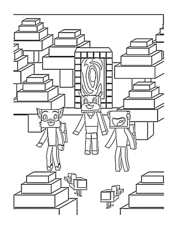 stampy coloring pages stampy cat coloring book unofficial minecraft coloring stampy pages coloring