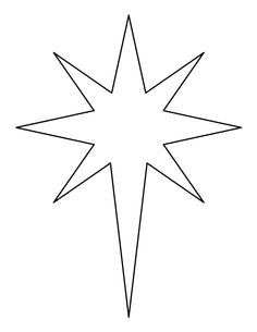 star of bethlehem coloring page printable bethlehem star pattern use the pattern for star bethlehem of coloring page