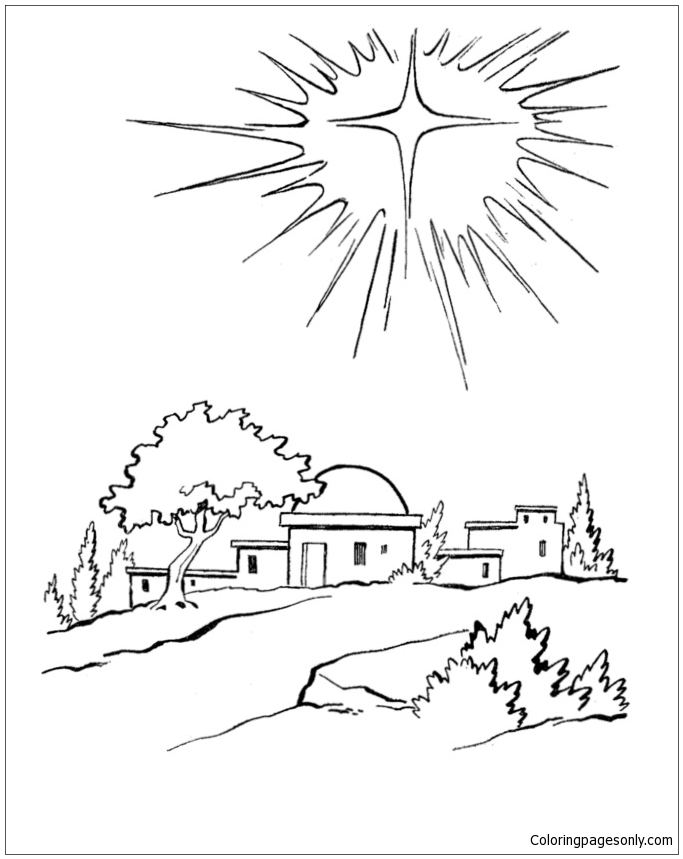 star of bethlehem coloring page star of bethlehem christmas coloring page christmas star coloring bethlehem page of