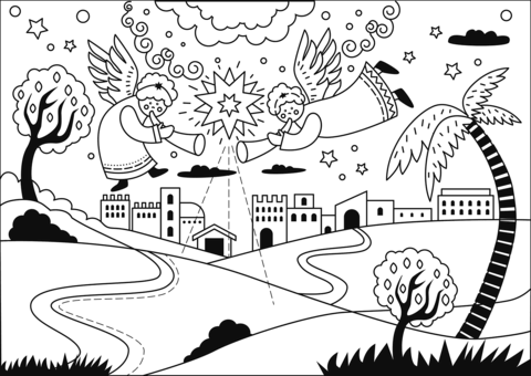 star of bethlehem coloring page star of bethlehem coloring page page of coloring star bethlehem