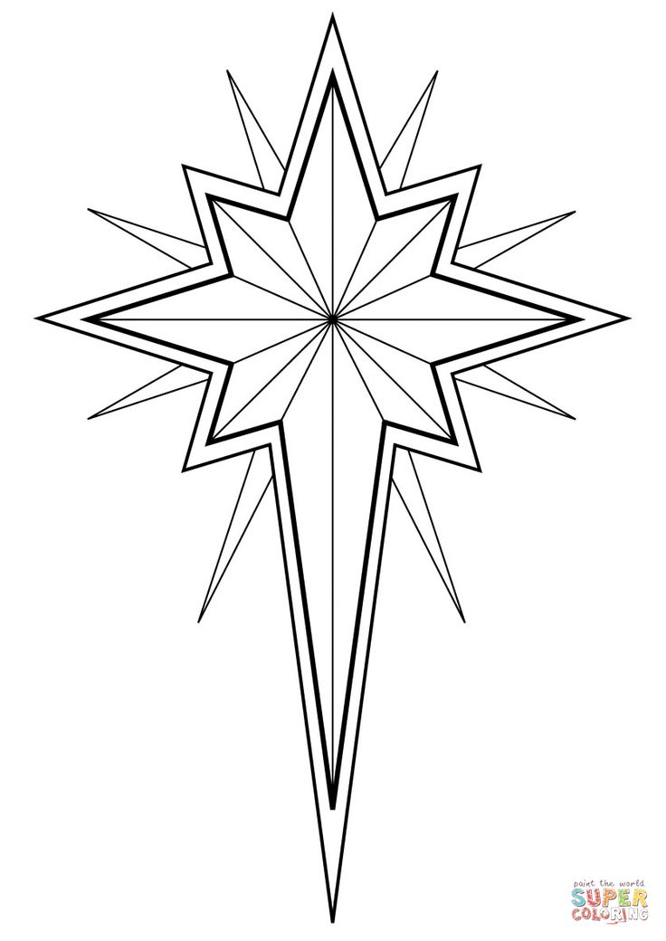 star of bethlehem coloring page star of bethlehem drawing at getdrawings free download of page star bethlehem coloring