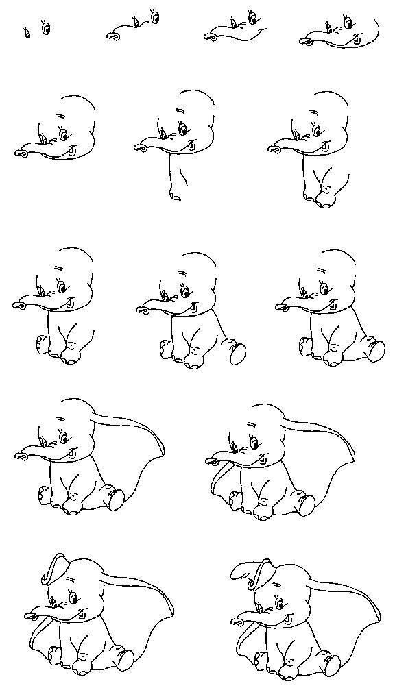 step by step drawing disney characters how to draw cartoon characters step by step step by step characters step by drawing disney step