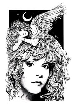 stevie nicks coloring pages the art of lynette k the changing times of stevie nicks nicks pages coloring stevie