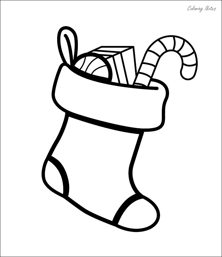 stocking coloring page 12 best christmas stocking coloring pages free printable stocking page coloring