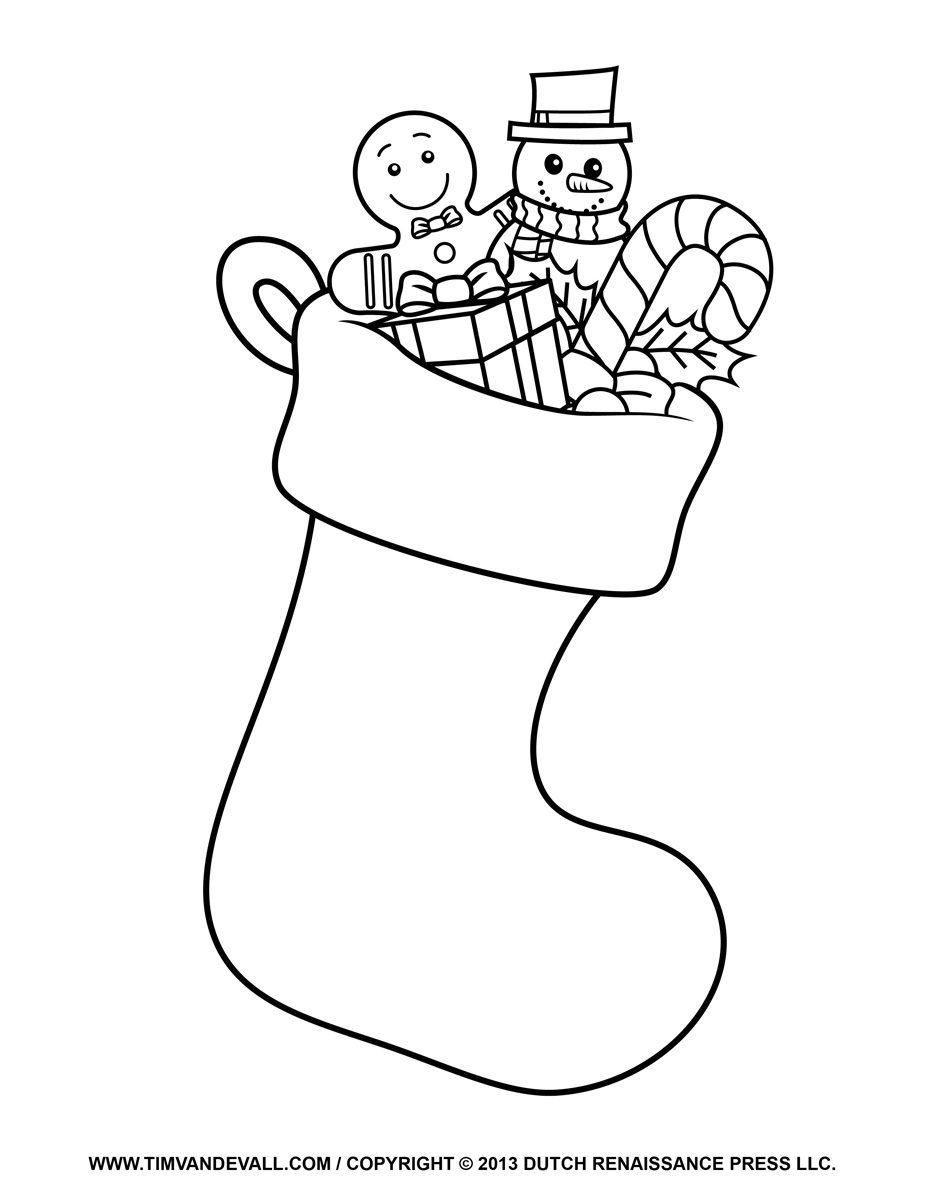 stocking coloring page stocking coloring pages download and print for free page coloring stocking