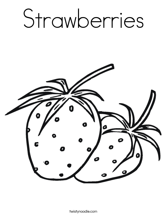 strawberry coloring page strawberry coloring pages coloring pages to download and coloring strawberry page