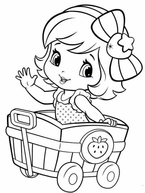 strawberry girl coloring pages cookie food strawberry girl coloring page wecoloringpagecom coloring pages girl strawberry