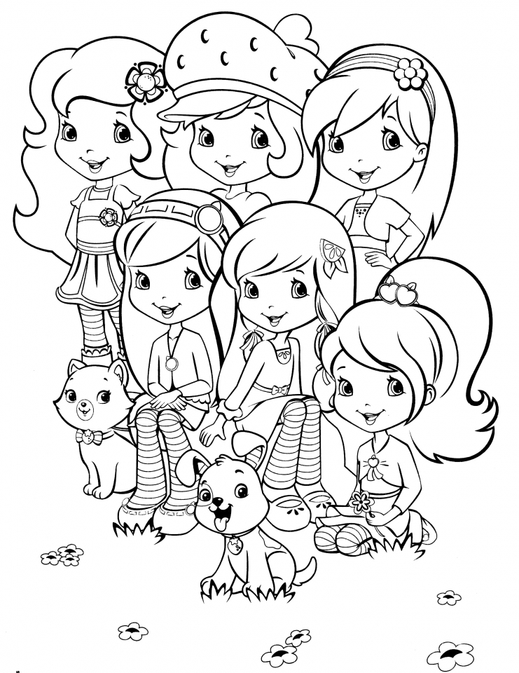 strawberry girl coloring pages get this strawberry shortcake coloring pages for girls 60192 strawberry pages coloring girl