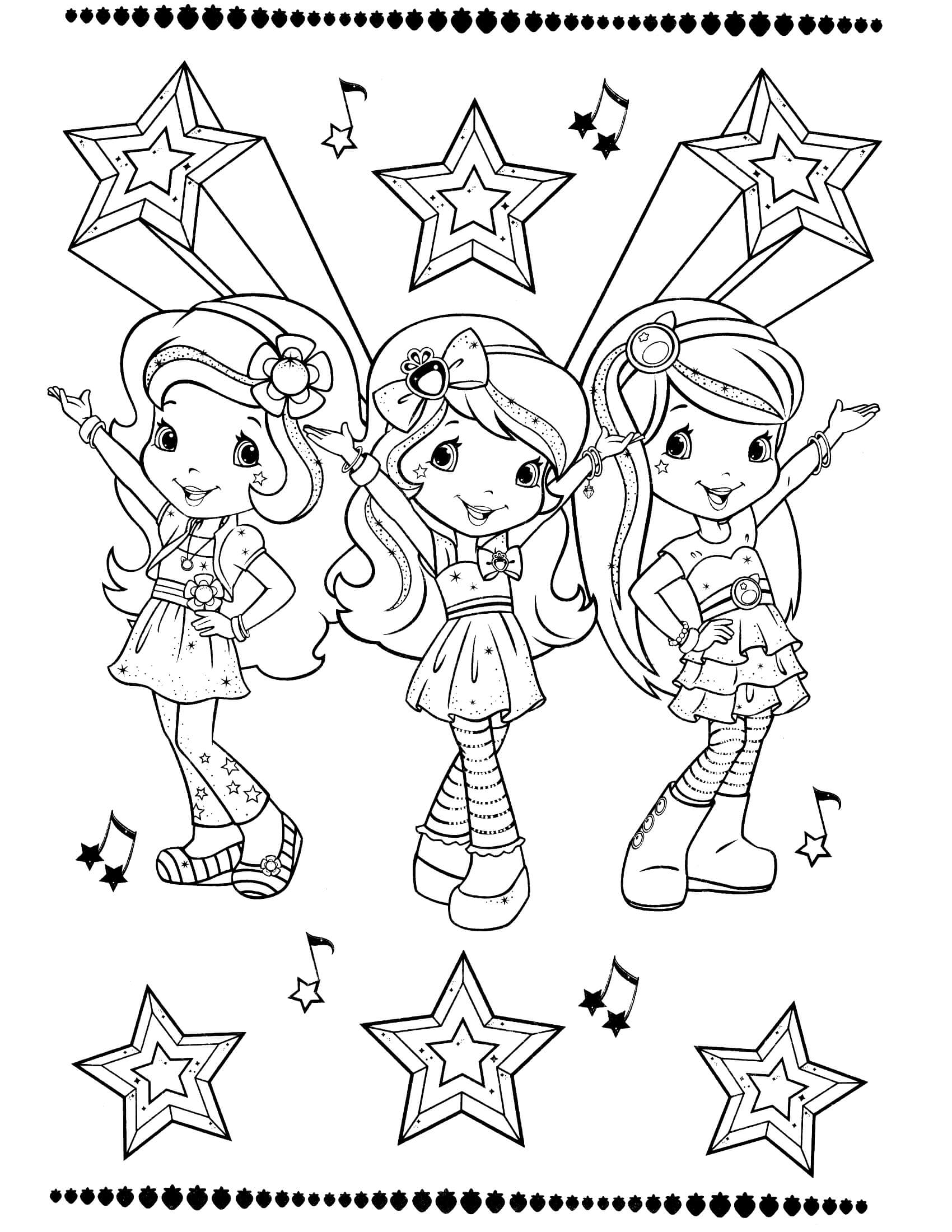 strawberry girl coloring pages hula dancer coloring page at getcoloringscom free coloring strawberry girl pages