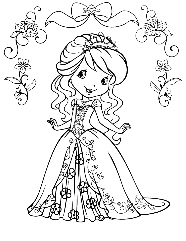 strawberry girl coloring pages new coloring sheets available on agkidzonecom strawberry pages girl coloring